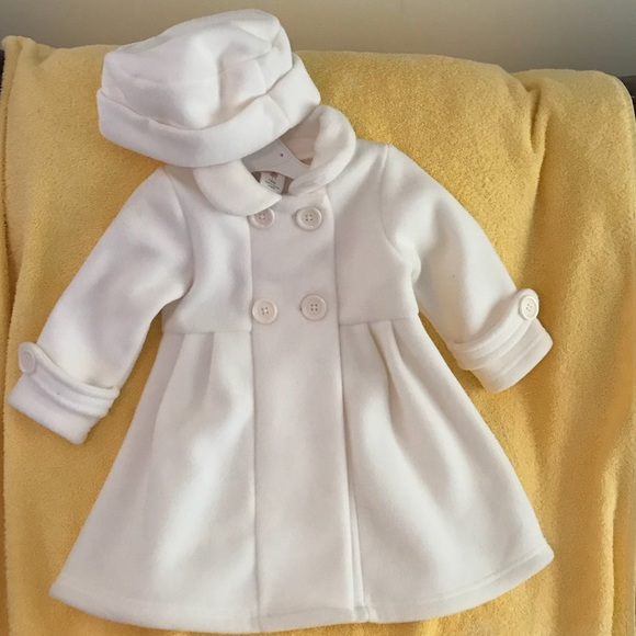 "ab14566a3 NWT ""Starting Out Infant Girls"" Peacoat Jacket Boutique"